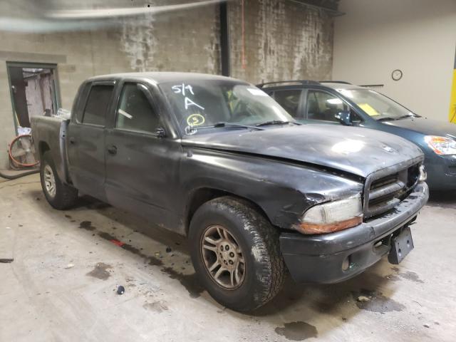 Dodge Dakota salvage cars for sale: 2001 Dodge Dakota