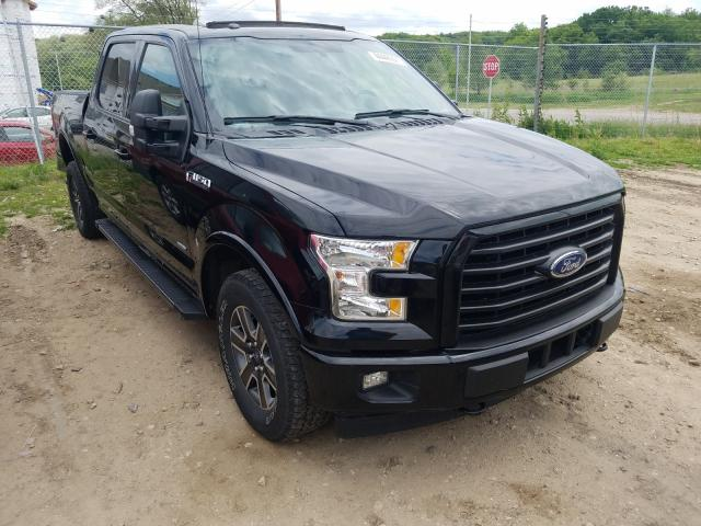 Salvage cars for sale from Copart Madison, WI: 2017 Ford F150 Super