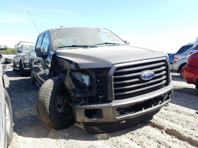 Salvage cars for sale from Copart Brookhaven, NY: 2016 Ford F150 Super
