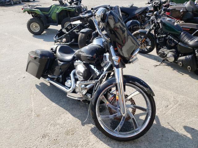 Salvage motorcycles for sale at Savannah, GA auction: 2014 Harley-Davidson Flhxs Street