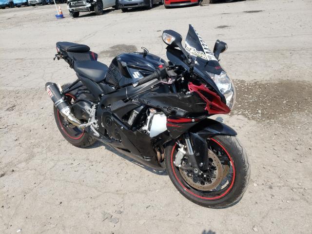 Salvage motorcycles for sale at West Mifflin, PA auction: 2012 Suzuki GSX-R600