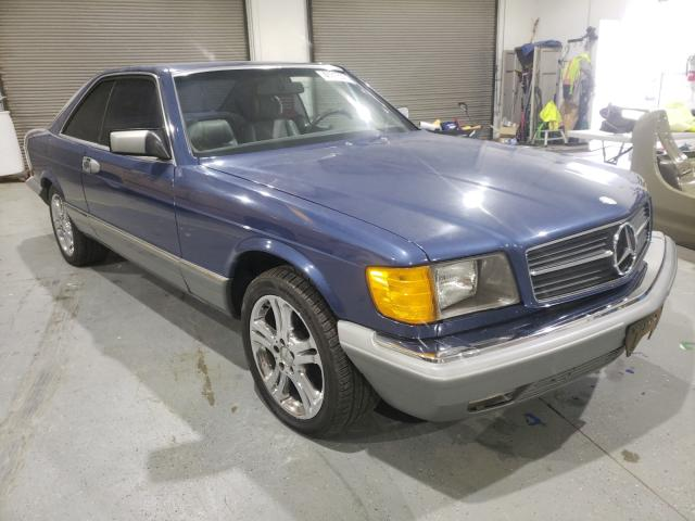 Salvage cars for sale from Copart Eugene, OR: 1984 Mercedes-Benz 500 SEC