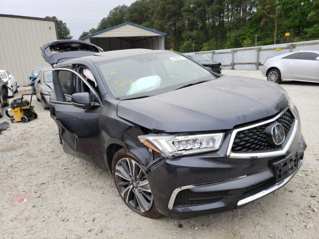 Salvage cars for sale from Copart Seaford, DE: 2020 Acura MDX Techno
