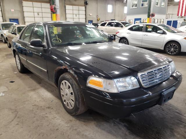 Salvage cars for sale from Copart Blaine, MN: 2009 Ford Crown Victoria