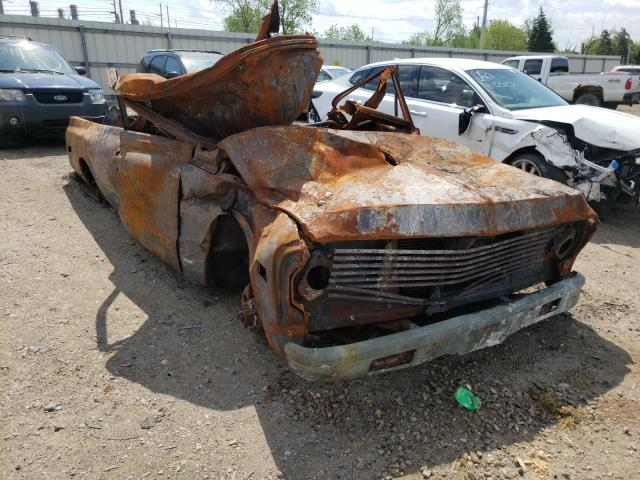 Salvage cars for sale from Copart Lansing, MI: 1971 Chevrolet C-10