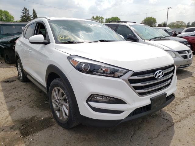 Hyundai Tucson salvage cars for sale: 2017 Hyundai Tucson