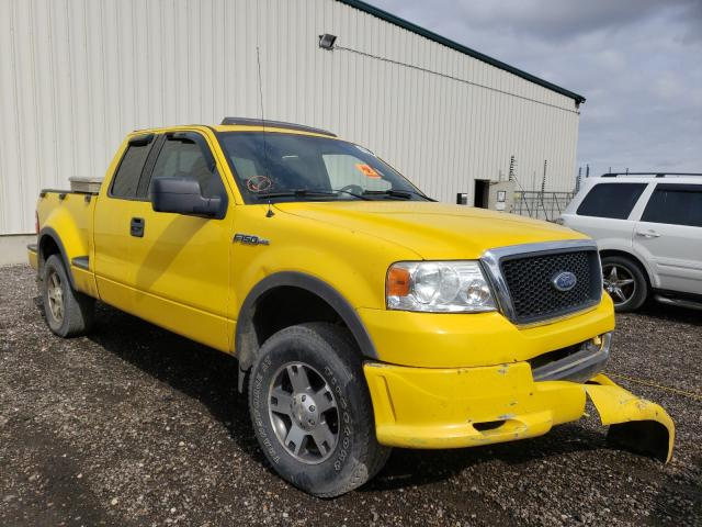 Salvage cars for sale from Copart Rocky View County, AB: 2004 Ford F150