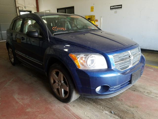 Salvage cars for sale from Copart Lyman, ME: 2009 Dodge Caliber R