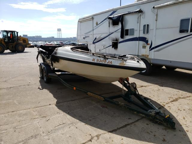 Salvage cars for sale from Copart Eldridge, IA: 1997 Crownline Boat Trlr