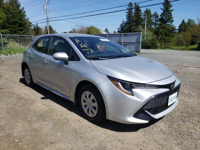 Salvage cars for sale from Copart Cow Bay, NS: 2019 Toyota Corolla SE
