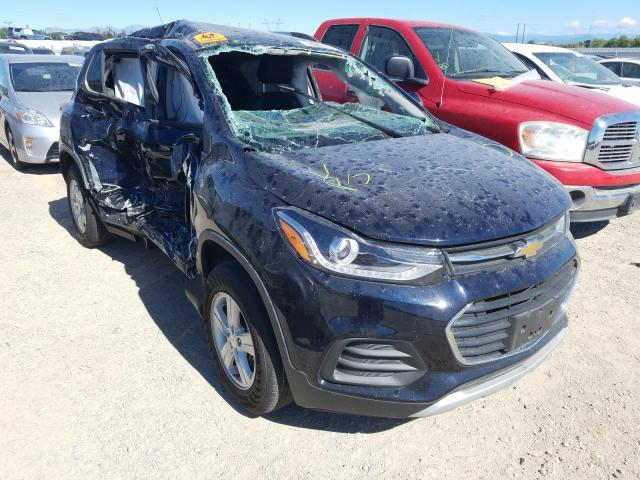 Carros salvage para piezas a la venta en subasta: 2021 Chevrolet Trax 1LT