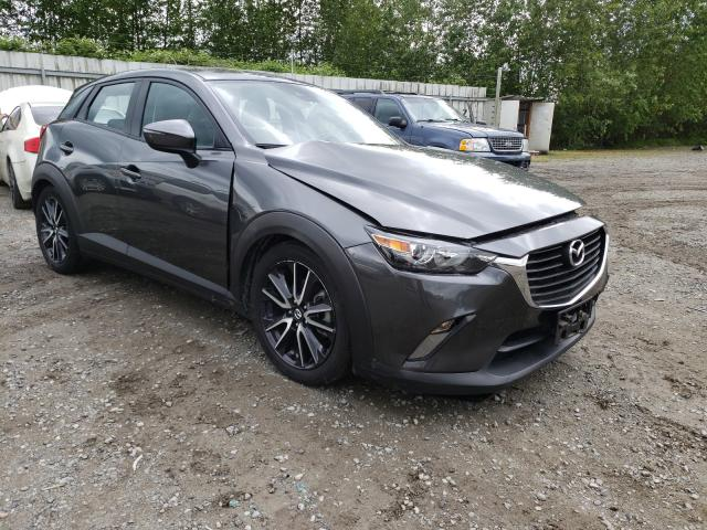 Salvage cars for sale from Copart Arlington, WA: 2018 Mazda CX-3 Touring