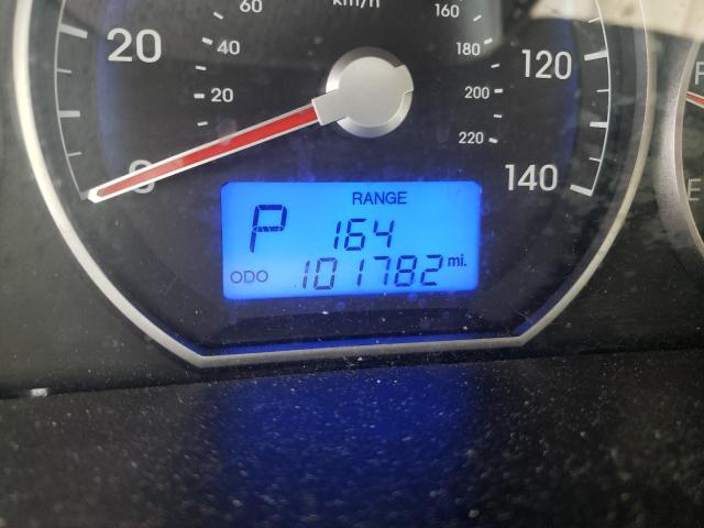 2012 HYUNDAI SANTA FE G 5XYZGDAB2CG158784