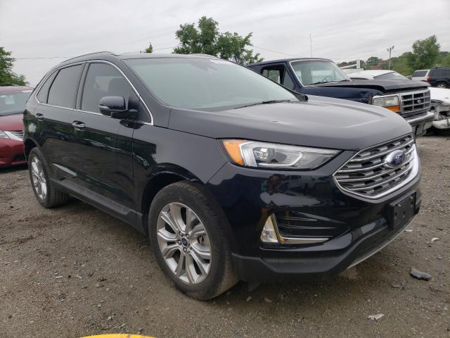 Salvage cars for sale from Copart Baltimore, MD: 2019 Ford Edge Titanium
