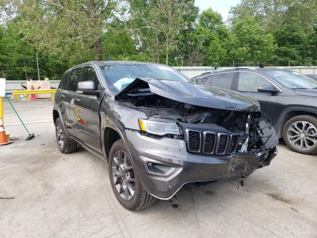 Salvage cars for sale from Copart Ellwood City, PA: 2021 Jeep Grand Cherokee