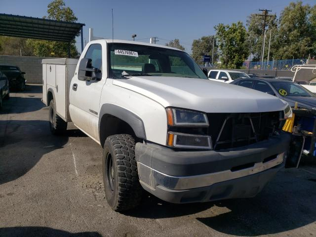 Salvage cars for sale from Copart Colton, CA: 2005 Chevrolet Silverado