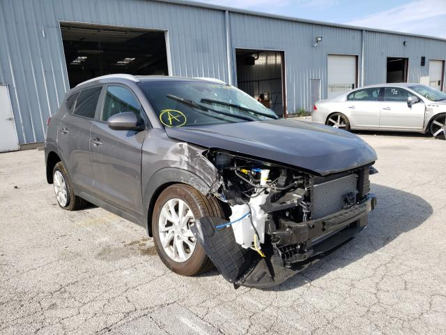 Salvage cars for sale from Copart Dyer, IN: 2020 Hyundai Tucson Limited