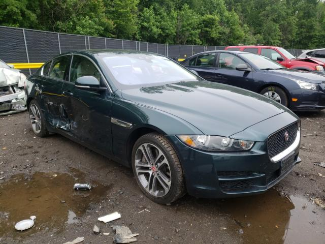 Salvage cars for sale from Copart Waldorf, MD: 2017 Jaguar XE Premium