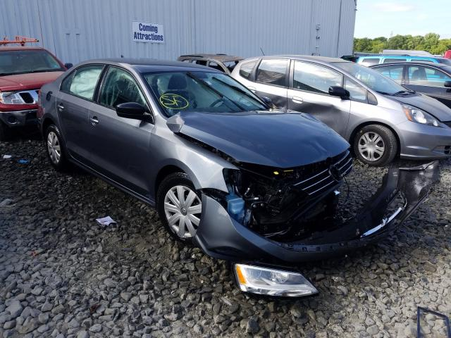 Salvage cars for sale from Copart Windsor, NJ: 2015 Volkswagen Jetta Base