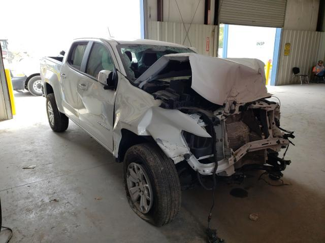 Salvage cars for sale from Copart Riverview, FL: 2021 Chevrolet Colorado L