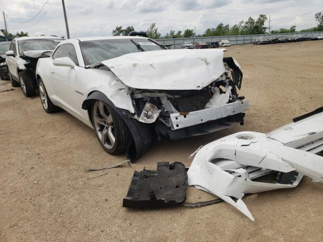 Salvage cars for sale from Copart Pekin, IL: 2012 Chevrolet Camaro LS