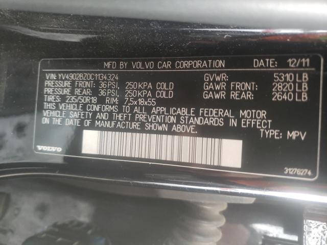 YV4902BZ0C1134324