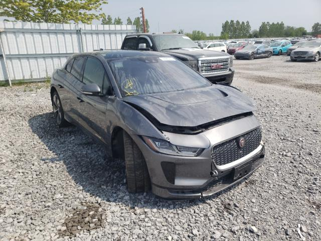 Salvage cars for sale from Copart Ontario Auction, ON: 2019 Jaguar I-PACE FIR
