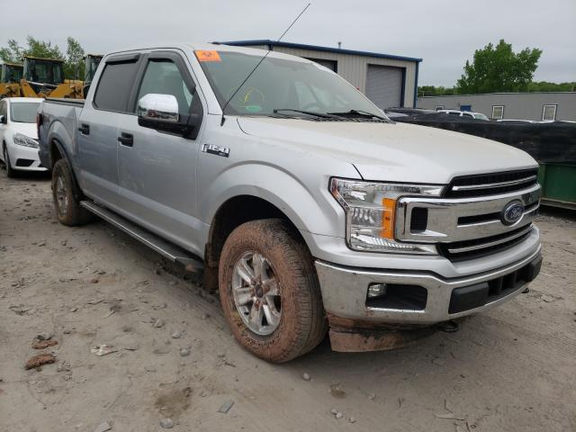 Salvage cars for sale from Copart Duryea, PA: 2018 Ford F150 Super