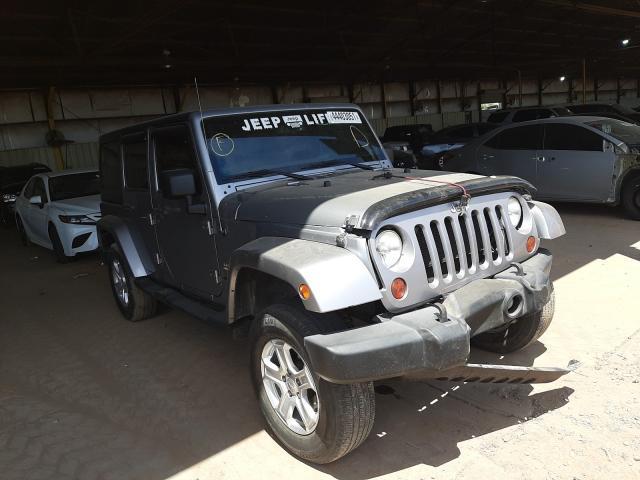 Salvage cars for sale from Copart Phoenix, AZ: 2013 Jeep Wrangler U
