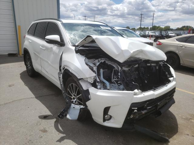 Salvage cars for sale from Copart Nampa, ID: 2018 Toyota Highlander