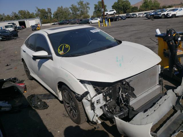 Salvage cars for sale from Copart Colton, CA: 2018 Honda Civic Touring