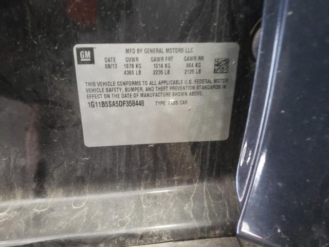 2013 CHEVROLET MALIBU LS 1G11B5SA5DF358448