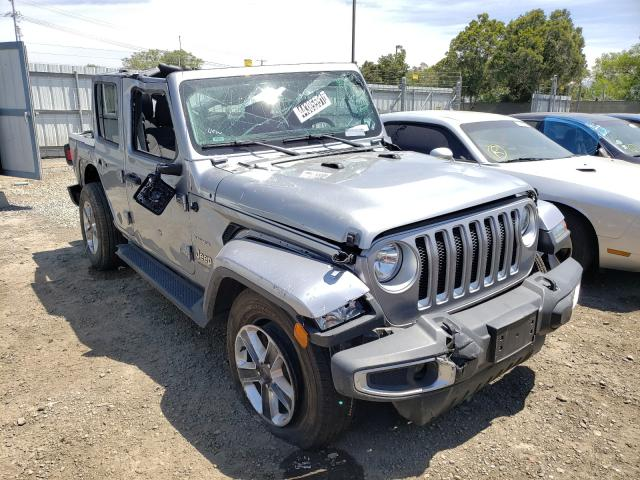 Salvage cars for sale from Copart San Diego, CA: 2020 Jeep Wrangler U