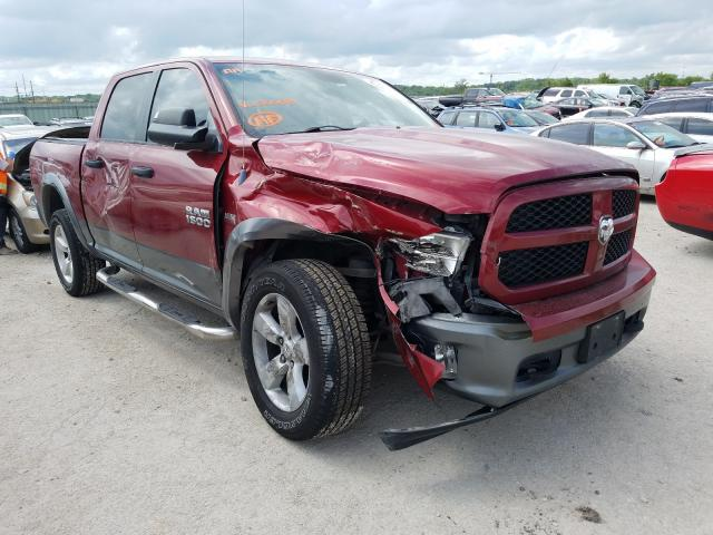 Salvage cars for sale from Copart Kansas City, KS: 2013 Dodge RAM 1500 SLT