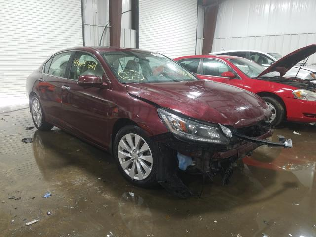 Salvage cars for sale from Copart West Mifflin, PA: 2015 Honda Accord EX