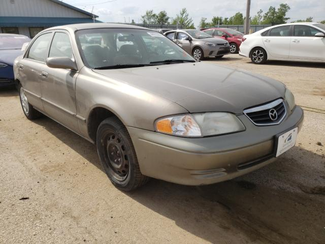 Salvage cars for sale from Copart Pekin, IL: 2002 Mazda 626 ES