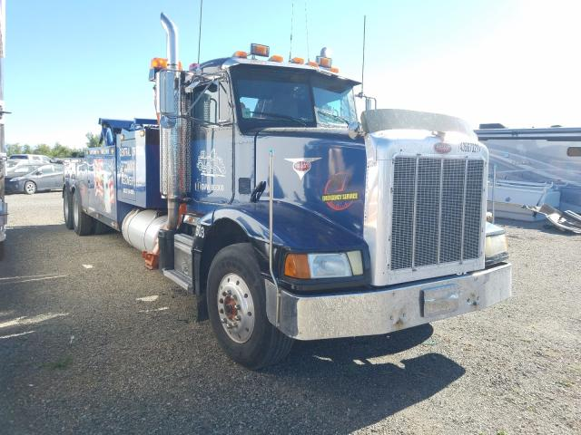 Salvage cars for sale from Copart Anderson, CA: 1989 Peterbilt 377