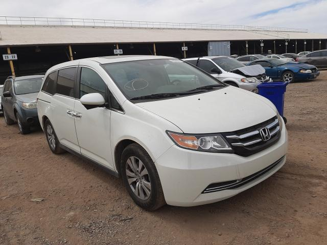 Salvage cars for sale from Copart Phoenix, AZ: 2015 Honda Odyssey EX