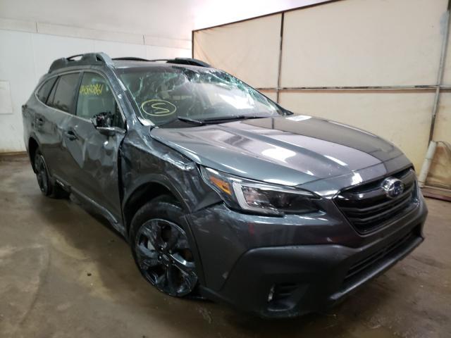 Salvage cars for sale at Davison, MI auction: 2020 Subaru Outback ON