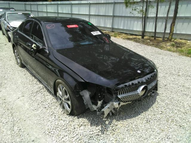 Salvage cars for sale from Copart Knightdale, NC: 2016 Mercedes-Benz C 300 4matic