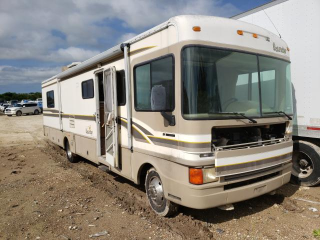 Salvage cars for sale from Copart Temple, TX: 1999 Bounder Motorhome