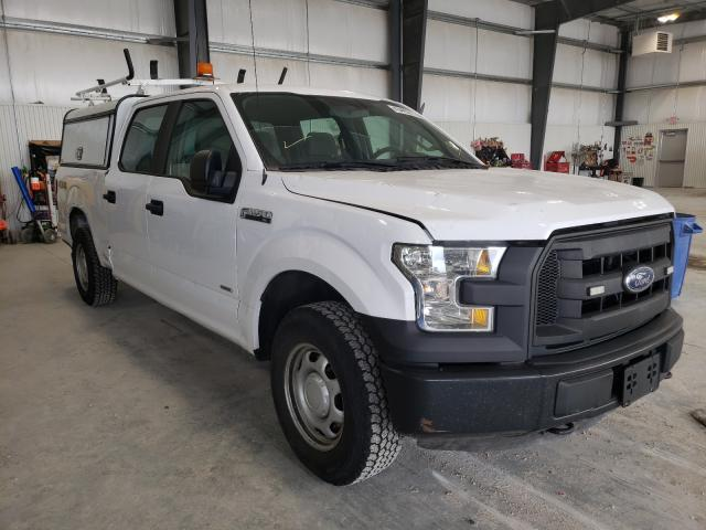 Ford F-150 salvage cars for sale: 2015 Ford F-150