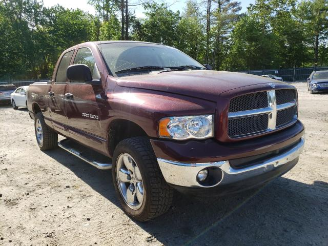 Salvage cars for sale from Copart Candia, NH: 2002 Dodge RAM 1500