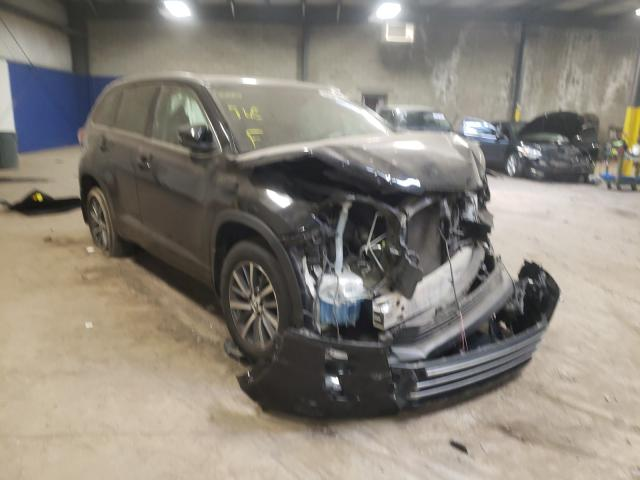 Salvage cars for sale from Copart Chalfont, PA: 2018 Toyota Highlander