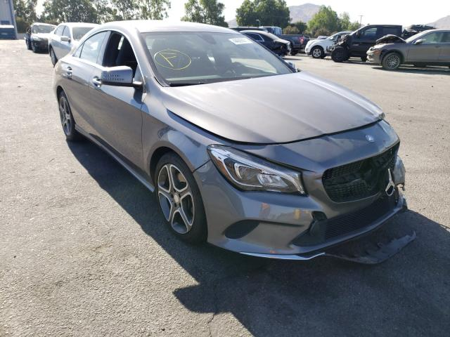 Salvage cars for sale from Copart Colton, CA: 2018 Mercedes-Benz CLA 250