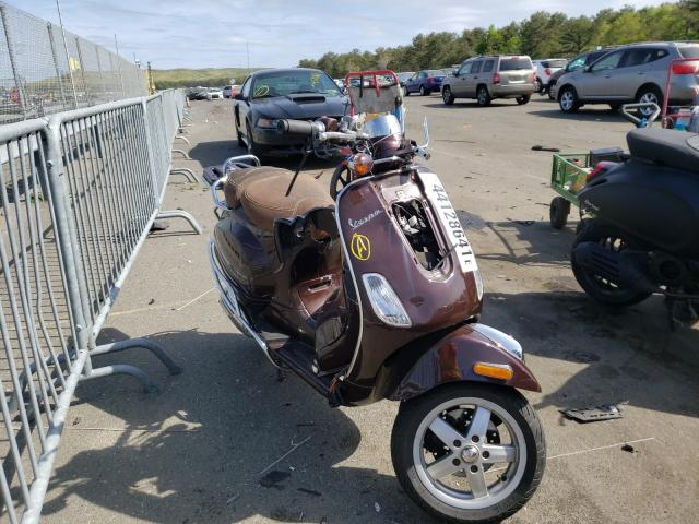 Salvage cars for sale from Copart Brookhaven, NY: 2013 Vespa LX 150IE