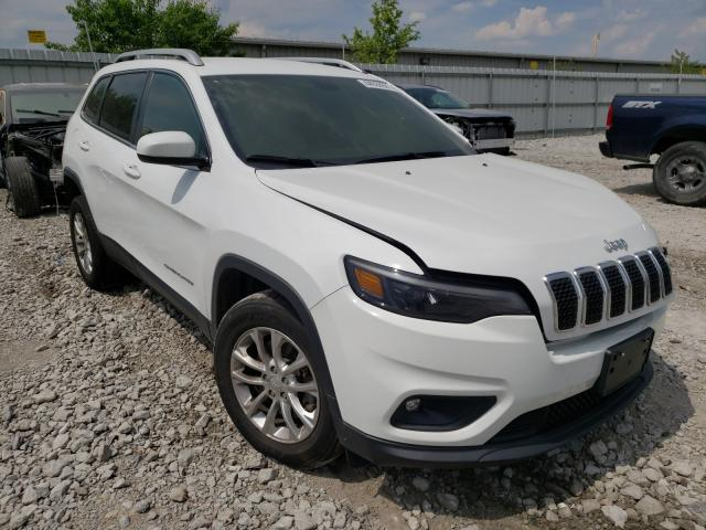 Salvage cars for sale from Copart Walton, KY: 2019 Jeep Cherokee L