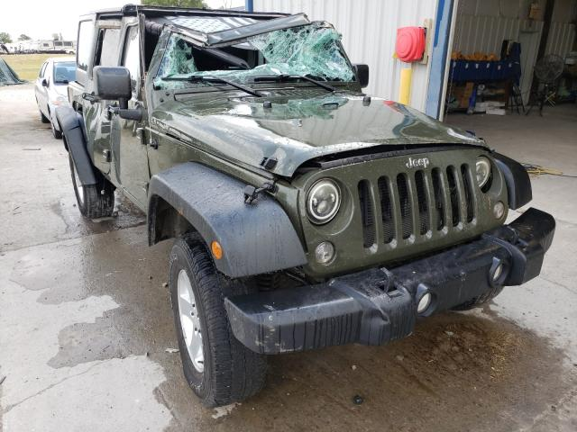 Salvage cars for sale from Copart Sikeston, MO: 2015 Jeep Wrangler U