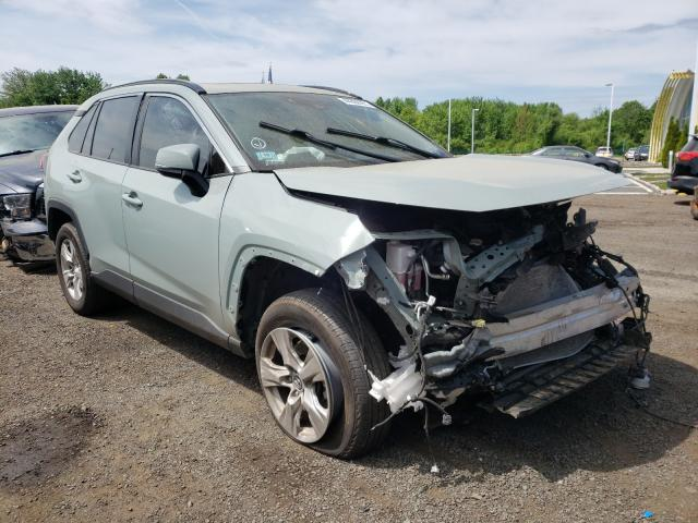 Salvage cars for sale from Copart East Granby, CT: 2019 Toyota Rav4 XLE
