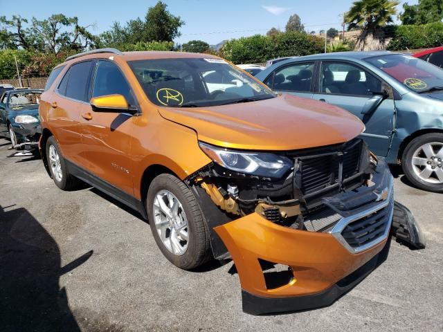 Salvage cars for sale from Copart San Martin, CA: 2019 Chevrolet Equinox LT